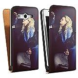 DeinDesign Huawei Ascend G525 Tasche Schutz Hülle Walletcase Bookstyle Frau Föhn Kamm