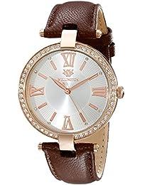 4c51c4e7e9f2 Wellington WN502-315 - Reloj analógico de mujer de cuarzo con correa de  piel marrón