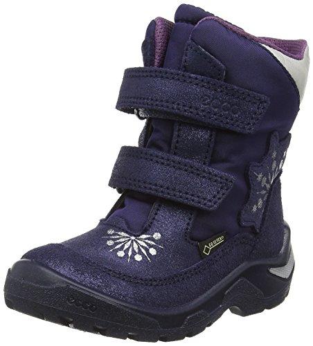 Ecco Snowride, Chaussures Marche Bébé Fille Violet (MIDNIGHT/MIDNIGHT/ALUSILVER50144)