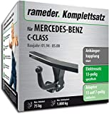 Rameder Komplettsatz, Anhängerkupplung starr + 13pol Elektrik für Mercedes-Benz C-Class (113610-00520-1)