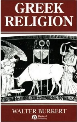 Greek Religion: Archaic and Classical (Ancient World) por Walter Burkert