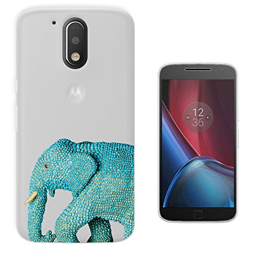 c0905-cool-wildlife-blue-indian-african-elephant-tusks-design-motorola-moto-g4-play-fashion-trend-si