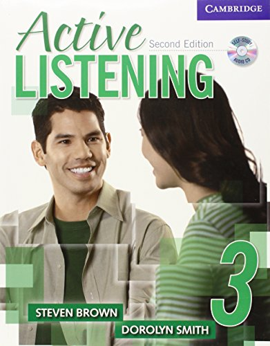 Active Listening 2nd 3 Student's Book with Self-study Audio CD: Level 3