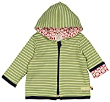 loud + proud Unisex Baby Jacke Wendejacke Grün (Moos Mo) 56 (Herstellergröße: 50/56)