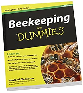 Beekeeping Dummies Book Comprehensive Training Guide Tools Equipment Backyard