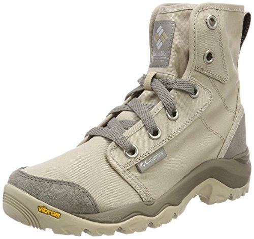 COLUMBIA Damen Casual Stiefel, CAMDEN CHUKKA, Beige (Ancient Fossil, Grey Ice), 39 1/2