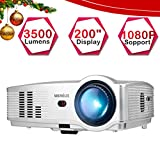 Proyectores, Proyector Full HD 3500 Lúmenes Support 1080P (T4-Plata)