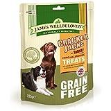 James Wellbeloved Cracker Jacks Turkey & Veg Grain Free 225g
