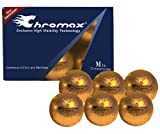 Chromax M1 Golf Balls 6 pack (Orange)