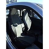 2Métrica Asiento Fundas Fundas Asiento delantero LX S Gris OEM plástico piel einteilig para Smart 450451452Fundas de asiento schonbezüge Colchón Fortwo Coupé (C 450) Fortwo Coupé (C 451) brabus Fortwo (C 450) brabus Fortwo (C 451) Smart K (C 450) Fortwo Cabrio (a 450) Fortwo Cabrio (a 451) brabus Fortwo Cabrio (a 451) CROSSBLADE (R 450) Roadster (R 452) Roadster Coupé (C 452) Top calidad con orificios para airbag Lavado Bar