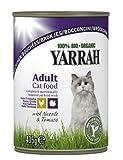 YARRAH Bio Katzenfutter Bröckchen Huhn und Truthahn 405g