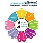The Woof Whisperer Anti Bark Dog Collar Small Medium Large Dogs STOP BARKING No Shock Vibration Sound Training Collar… 10