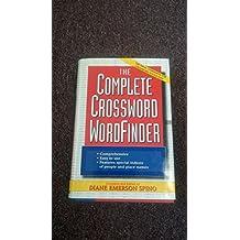 The Complete Crossword Wordfinder