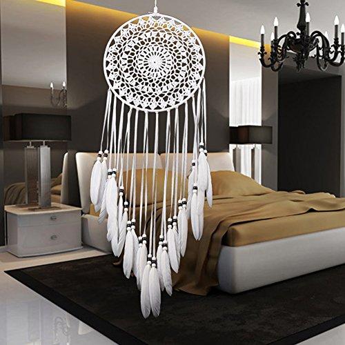 everpert blanco para colgar de pared diseño de atrapador de sueños decorativo casa coche decoración Craft
