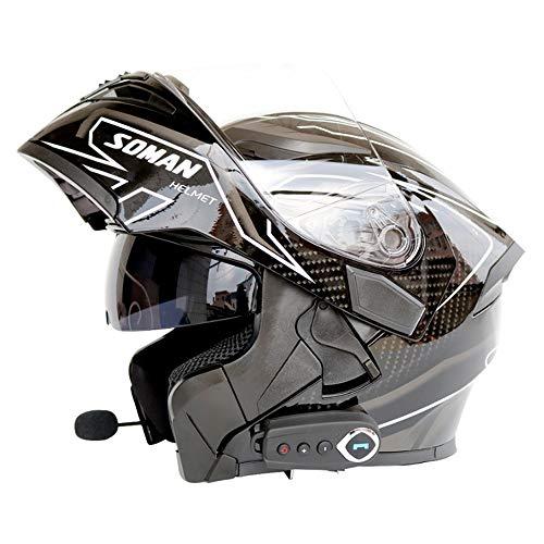 NF Bluetooth Integrado Casco Motocicleta Modular Estándar