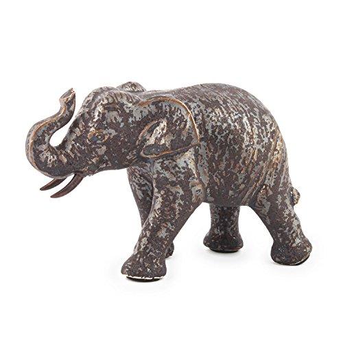 Pajoma Decoración Elefante Marla de cerámica, Altura de 8,5cm