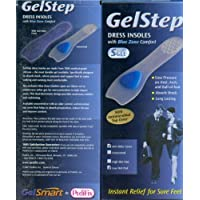 GelStep Thin Dress Insole with Ball-of-Foot Pad - Large by Pedifix preisvergleich bei billige-tabletten.eu