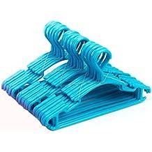 Tosnail Perchas infantiles, 30unidades, color azul