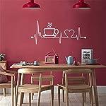 Anmain-Tazza-Caff-Sticker-Da-Muro-Bar-Adesivi-Murali-Cucina-Adesivi-Parete-Semplice-Adesivi-Pareti-Amore-Stickers-Muro-Adesivi-Murali-Cucina-Wall-Stickers-Creativi-Sticker-Decorativi-Murales-Muraglia