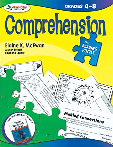 The Reading Puzzle: Comprehension, Grades 4-8 (Computer Im Klassenzimmer)