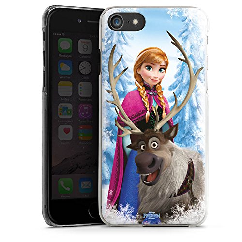 Apple iPhone X Silikon Hülle Case Schutzhülle Disney Frozen Anna & Sven Fanartikel Geschenke Hard Case transparent