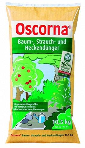 Oscorna Baum-, Strauch- und Heckendünger, 10,5 kg (Hecke Baum)