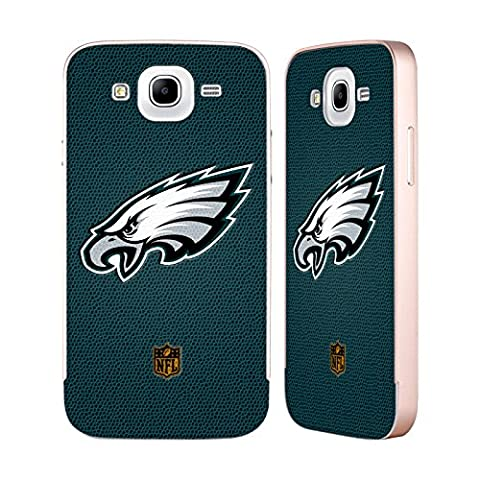 Officiel NFL Football Philadelphia Eagles Logo Or Étui Coque Aluminium Bumper Slider pour Samsung Galaxy Mega 5.8 I9150