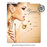 10 Stk. Multicolor-Geschenkgutscheine für Kosmetik, Beauty, Nageldesign, Nail Art KS269