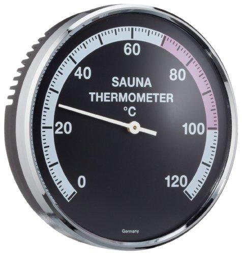 EOS Sauna Thermometer Ø 100 mm, Messbereich 0 - 120°C