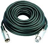 Img Stage Line MEC-1000/RT Mikrofonkabel (XLR-Stecker / XLR-Kupplung) 10m rot