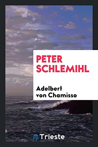 Book cover for Peter Schlemihl