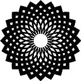 Marabu 028700002 - Silhouette-Schablone Oriental Ornament, 15 x 15 cm