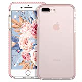 MATEPROX iPhone 8 Plus Coque iPhone 7 Plus Coque Clair Heavy Duty de Protection...