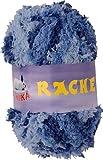maDDma ® 50g Kuschelgarn RACHEL by VLNIKA, 100% Polyester, verschiedene neue Farben, Farbe:Blautöne