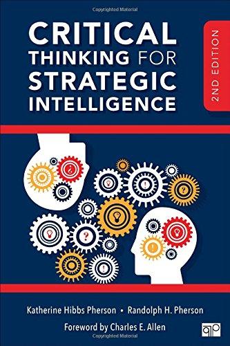 Critical Thinking for Strategic Intelligence par Katherine H. Pherson, Randolph H. Pherson
