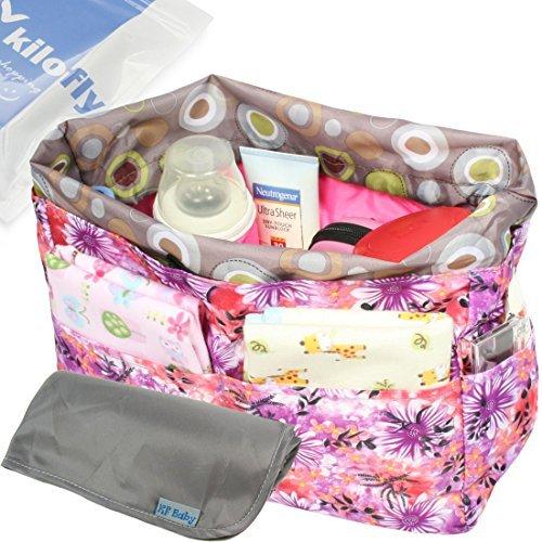 kf-baby-diaper-bag-insert-drawstring-closure-organizer-changing-pad-value-combo