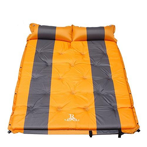 BELLAMORE GIFT LuftmatratzeUltraleichte Aufblasbare Isomatte für 2 Personen, Sleeping bad für Camping, Reise, Outdoor, Wandern Tragbare Size 192 x 132 x 5 cm