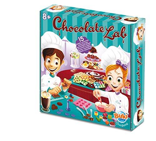 Buki - 7066EU - Jeu D'imitation - Cuisine - Chocolate Lab - 15 recettes