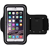 CloudTech OnePlus 3T Compatible(Top Selling) Sports Armband | Sports Arm Belt | Mobile Case For Running Jogging Sports & Gym Activities || Compatible With iPhone 6 | 6s | Vivo | Oppo | Samsung Note 2 | Samsung Note 3 | Sony | Motorola | Lenovo | Microsoft & Other Phones (Up to 5. 5 inch)