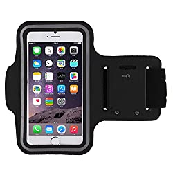 CloudTech Samsung Galaxy S8 Compatible (Top Selling) Sports Armband | Sports Arm Belt | Mobile Case For Running Jogging Sports & Gym Activities || Compatible With iPhone 6 | 6s | Vivo | Oppo | Samsung Note 2 | Samsung Note 3 | Sony | Motorola | Lenovo | Microsoft & Other Phones (Up to 5. 5 inch)