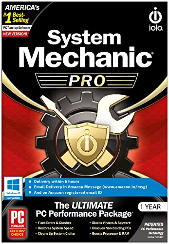 Iolo System Mechanic Pro (E-mail Delivery in 2 Hours -...