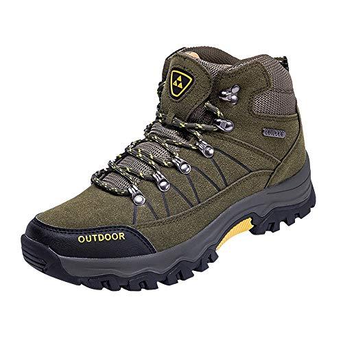 EU39-EU46 ODRD Schuhe Herren Outdoor Schuhe Casual Schnürschuhe Bequeme Laufschuhe zum Bergsteigen Herren Schuhe Hallenschuhe Worker Boots Laufschuhe Sportschuhe Wanderschuhe Sport