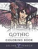 Gothic - Dark Fantasy Coloring Book: Volume 6 (Fantasy Coloring by Selina)