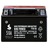 Motorrad Batterie YTX9-BS AGM Gel 9Ah 12V 140A/EN Quad Roller Motorradbatterie YTX9-4 YTX9BS 50812