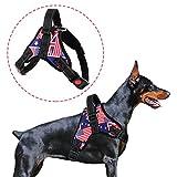 Hundegeschirr, verstellbare Outdoor-Weste für Hunde, kein Ziehen und kein Würgen, einfache Kontrolle für kleine mittelgroße und große Hunde