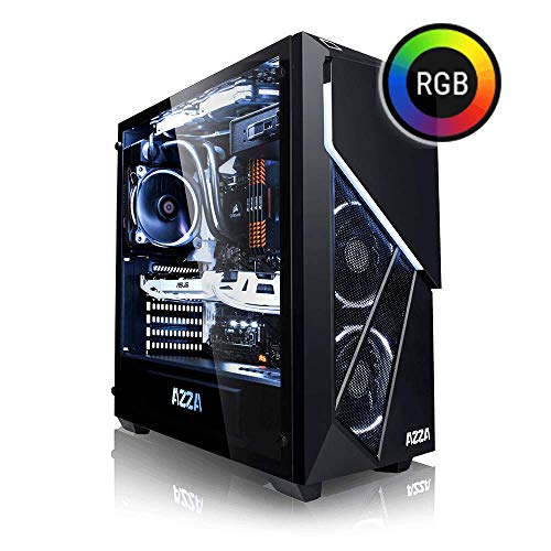 Megaport PC Gamer Premium Intel Core i7-8700K 6X 4,70 GHz Turbo • GeForce RTX2070 8Go • 16Go DDR4 • 250 Go Samsung SSD • 1To • Windows 10 • WiFi Unité Centrale Ordinateur de Bureau PC Gaming