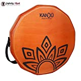 Ktäk – il primo realizzato a mano, mano drum Percussion, two-sound cajón Body, rullante portatile Cajon di Kandu (Dragon Fire)