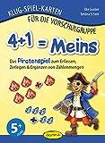 4+1 = Meins: Das Piratenspiel zum Erfassen, Zerlegen & Ergänzen von Zahlenmengen (Klug-Spiel-Karten für die Vorschulgruppe)