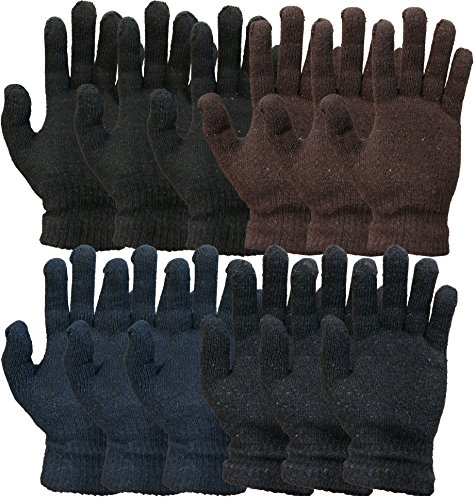 Yacht & Smith Yacht&Smith 12 Pairs Winter Gloves