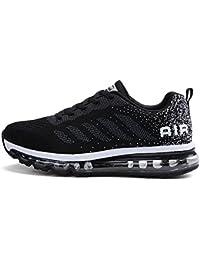 Fexkean Unisex Scarpe da Ginnastica Basse Sneakers Sportive Running Fitness Gym Shoes